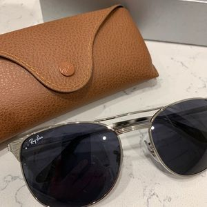 Ray-Ban Vintage Signet Sunglasses Blue/Silver